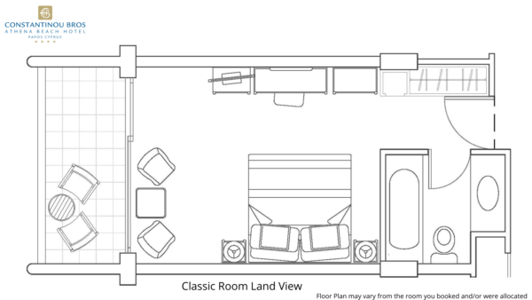 1 Classic Room Land View