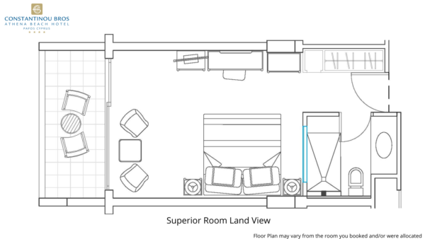 10 Superior Room Land View