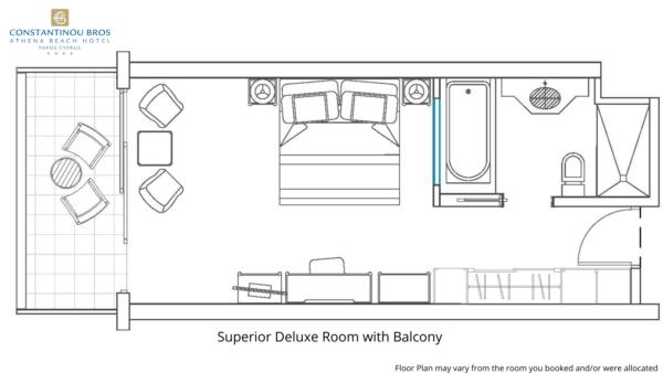 18 Superior Deluxe Room with Balcony