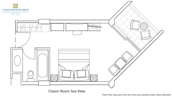 3 Classic Room Sea View