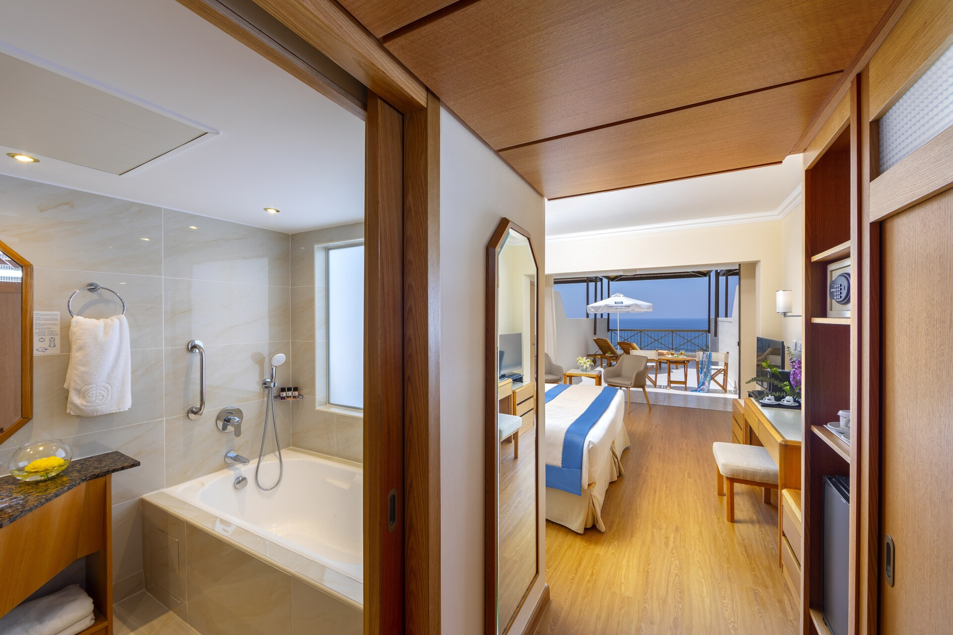 33 ATHENA BEACH HOTEL EXECUTIVE ONE & TWO BEDROOM SUITE