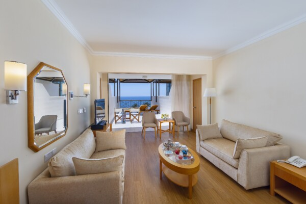 33.1 ATHENA BEACH HOTEL EXECUTIVE ONE & TWO BEDROOM SUITE LIVING ROOM