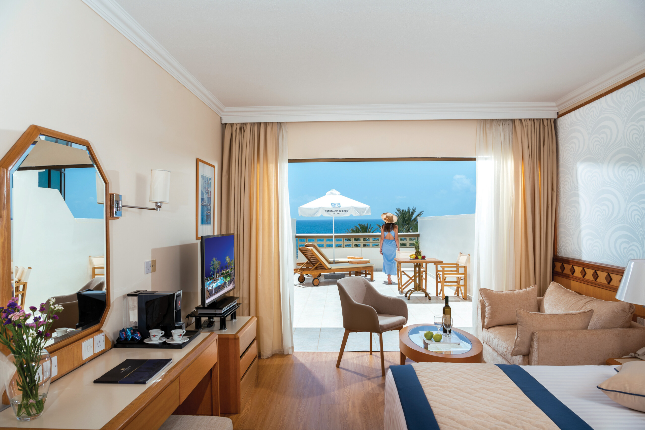 48 ATHENA BEACH HOTEL SUPERIOR DELUXE ROOM WITH TERRACE