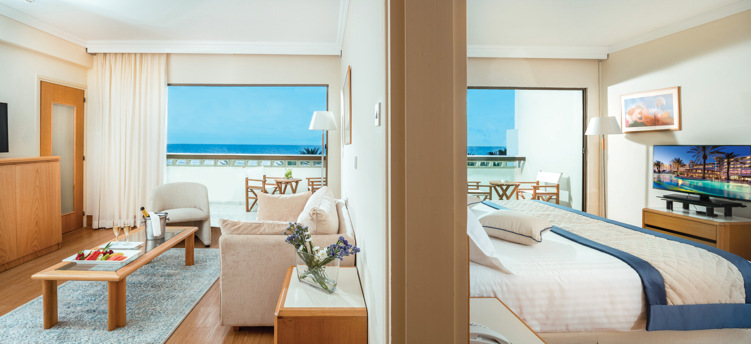 56 ATHENA BEACH HOTEL FAMILY ONE BEDROOM SUITE