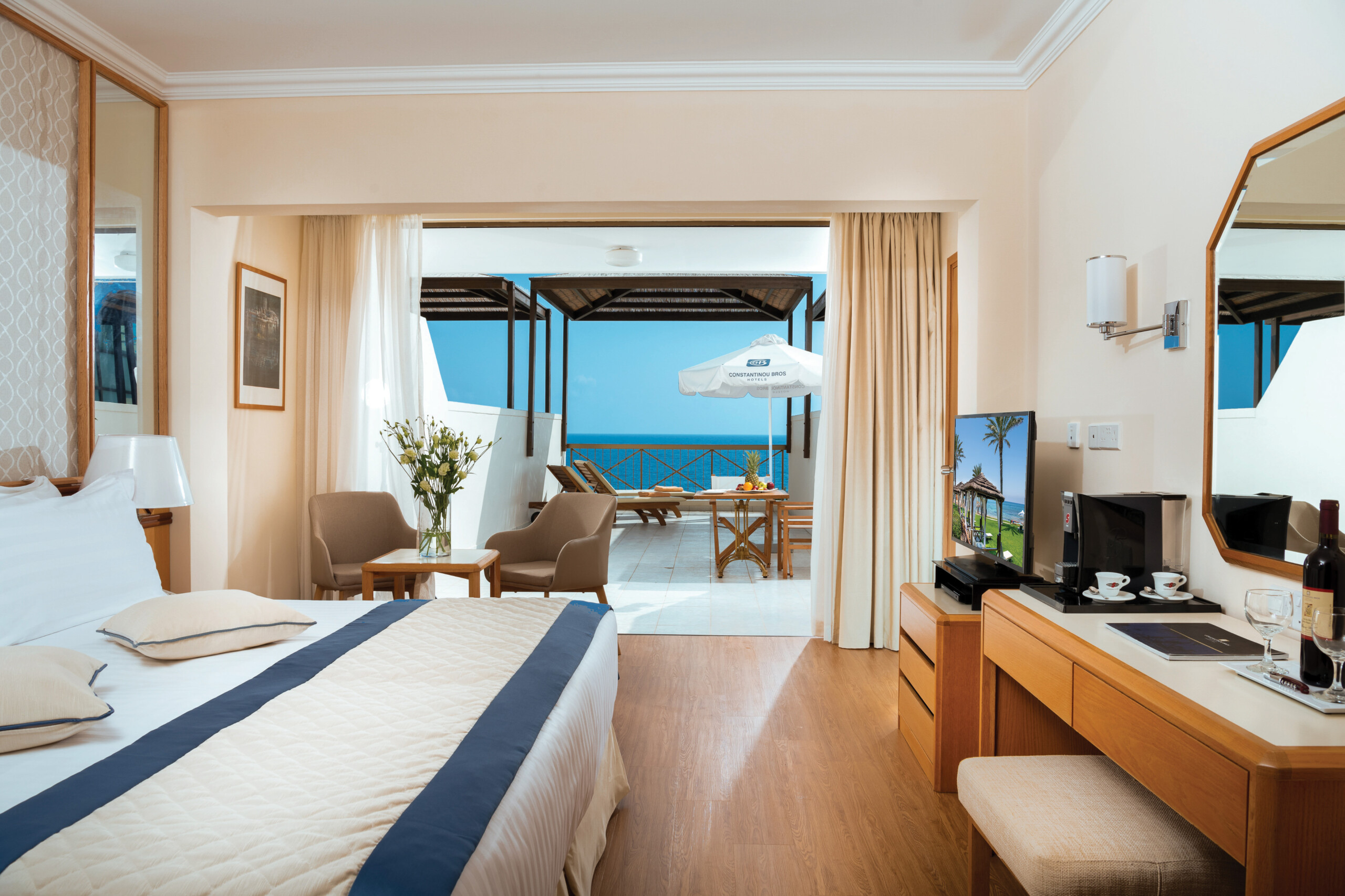 62 ATHENA BEACH HOTEL EXECUTIVE ONE & TWO BEDROOM SUITE WITH TERRACE