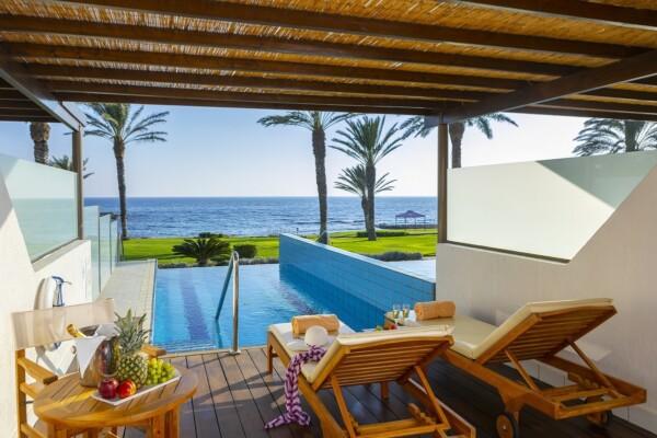 31.1 ATHENA BEACH HOTEL DUPLEX JUNIOR SUITE WITH PRIVATE POOL