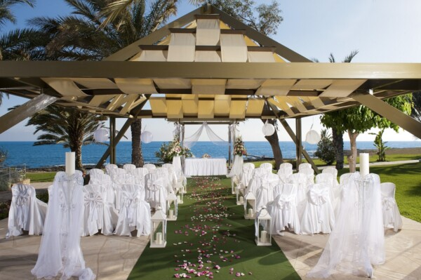 41 ATHENA BEACH HOTEL WEDDING GAZEBO