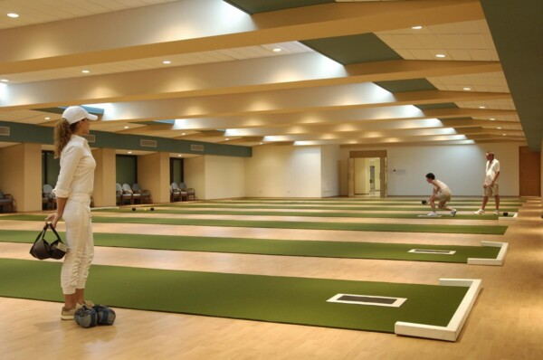 52 ATHENA ROYAL BEACH HOTEL ARTEMIS HALL SHORT MAT BOWLS
