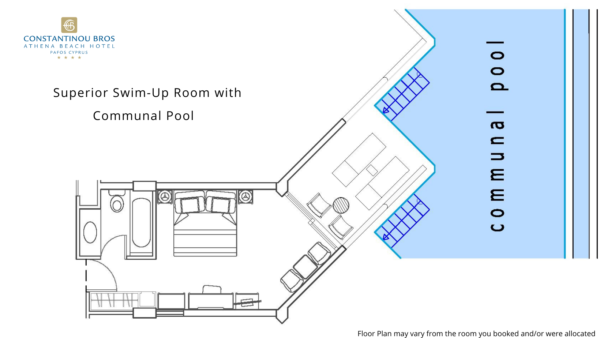 15 Superior Swim-Up Room with Communal Pool