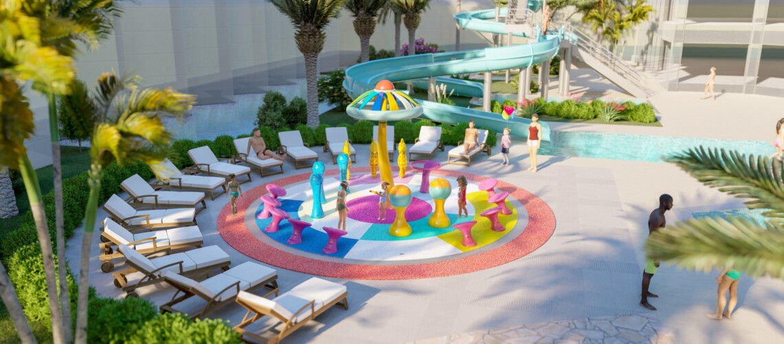 53 ATHENA BEACH HOTEL OASIS SPLASH